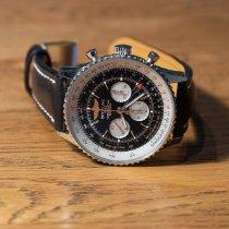 Breitling Navitimer GMT Stål 48mm Svart