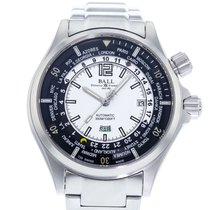 Ball Engineer Master II pre-owned 45mm White Date Steel