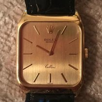 Rolex Cellini 4135/8 Very good Yellow gold 27mm Manual winding