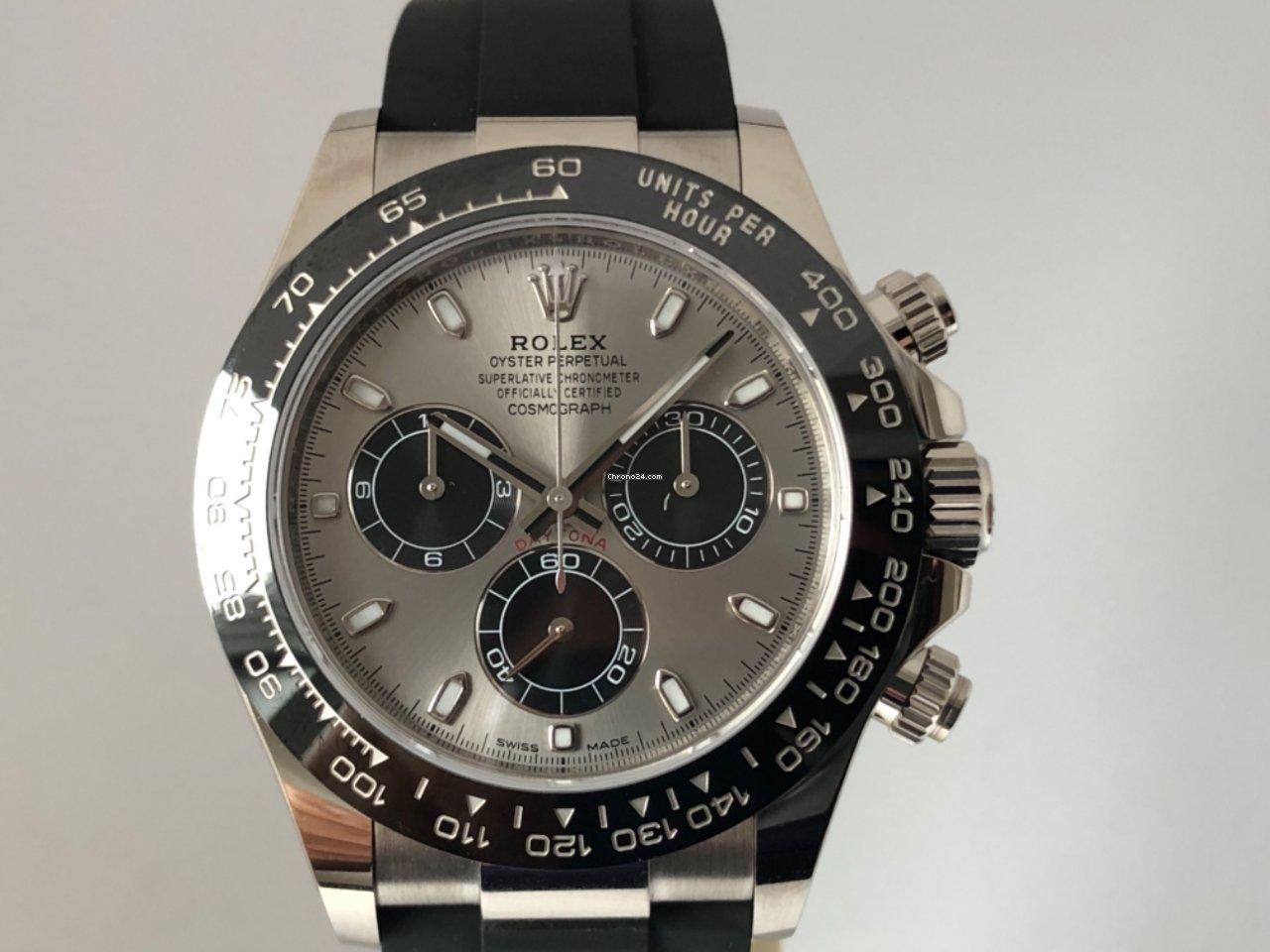 new styles 3fea8 c83d1 Rolex Daytona Weissgold 116519LN
