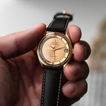 Universal Genève Rose gold 34mm Automatic Polerouter pre-owned