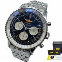 Breitling Navitimer 01 pre-owned 43mm Black Chronograph Date Steel