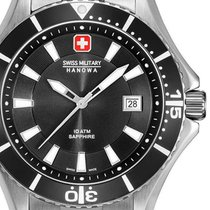 Swiss Military 06-5296.04.007 Ny Stål 46mm Kvarts