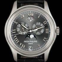 Patek Philippe Annual Calendar Platinum 37mm Grey Roman numerals United Kingdom, London
