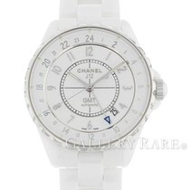 Chanel Women's watch J12 38mm Automatic pre-owned Watch with original box and original papers 2018