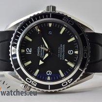 Omega Seamaster Planet Ocean Ocel 45,5mm Černá Arabské