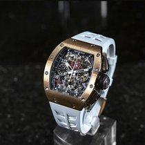 Richard Mille RM 011 Ruzicasto zlato 50mm Proziran Arapski brojevi