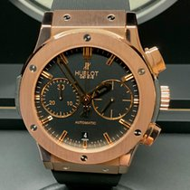 Hublot Classic Fusion Chronograph Rose gold 45mm Black United Kingdom, Wilmslow