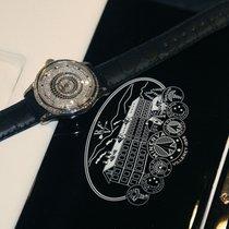 몽블랑 화이트골드 수동감기 진주색 숫자없음 43mm 신규 빌레레