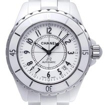 Chanel J12 Weiss Automatik 38mm H0970