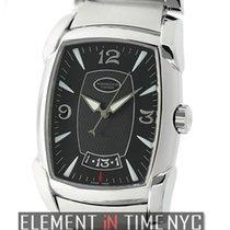 Parmigiani Fleurier Kalpa Steel 37mm Black Arabic numerals United States of America, New York, New York