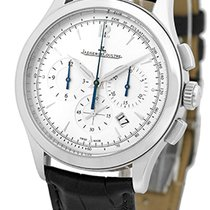 """Jaeger-LeCoultre Gent's Stainless Steel  """"Master Control""""..."""