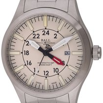 Ball : Engineer Master II Aviator GMT :  GM1086C-SJ-WH : ...