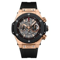Hublot Big Bang Unico 45mm Automatic Titanium & 18K King Gold...