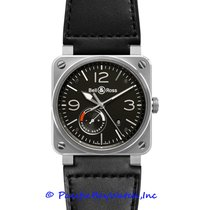 Bell & Ross BR 03-97 Réserve de Marche Steel 42mm Black Arabic numerals United States of America, California, Newport Beach
