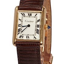 Cartier Tank Louis Cartier Yellow gold 23mm White Roman numerals