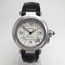 Cartier Pasha 2308 Very good White gold Automatic