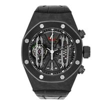 Audemars Piguet Carbon Manual winding Transparent No numerals 44mm pre-owned Royal Oak Concept