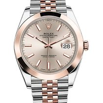 Rolex Datejust Steel and Everose Gold 41 mm Ref. 126301