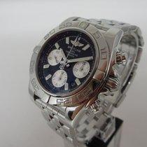 Breitling Chronomat 41 Stahl 41mm Schwarz Keine Ziffern