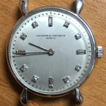Vacheron Constantin Platina Armare manuala Argint Fara cifre 30.2mm folosit