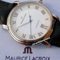 Maurice Lacroix 38mm Automatisch tweedehands Pontos Date Zilver