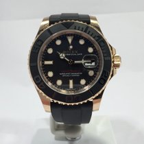 Rolex Yacht-Master 116655 Rosegold Bj. 2015 Box Papiere
