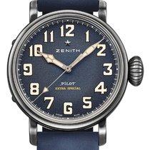 Zenith Pilot Type 20 Extra Special neu Automatik Uhr mit Original-Box und Original-Papieren 11.1942.679/53.C808