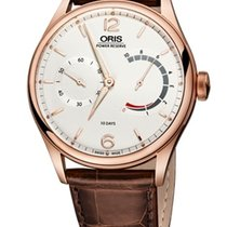 Oris Artelier Rose gold 43mm Silver Arabic numerals United States of America, Texas, FRISCO