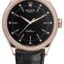 Rolex Cellini Time Ruzicasto zlato 39mm Crn