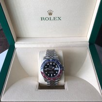 """Rolex GMT-Master II """"Pepsi"""" Red and Blue 126710BLRO"""
