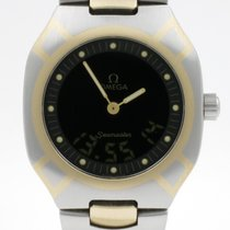 Omega Goud/Staal 32mm Quartz 2440500 tweedehands Nederland, Nijmegen  (www.horloge-sieraden.nl)