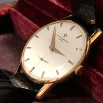 Vacheron Constantin 35mm Manual winding 1960 pre-owned Patrimony Champagne