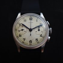 Auricoste Steel 33mm Manual winding pre-owned