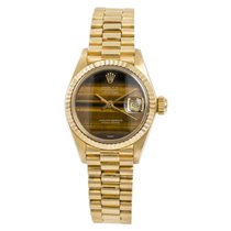 Rolex 26mm Automatic 1980 pre-owned Lady-Datejust Brown