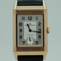 Jaeger-LeCoultre Grande Reverso Night & Day Aur roz 27mm Argint