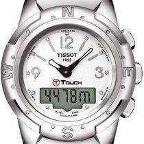 Tissot Titan Kvarts Perlemor 43mm ny T-Touch II
