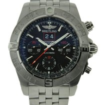 Breitling Blackbird new Automatic Chronograph Watch only A4436010/BB71