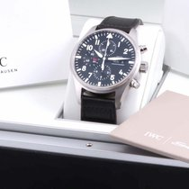 IWC Pilot Chronograph Steel 43mm Black Arabic numerals United States of America, California, Beverly Hills