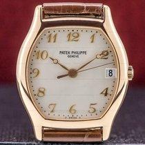 Patek Philippe Gondolo Rose gold 34mm Silver Arabic numerals United States of America, Massachusetts, Boston