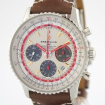 Breitling AB01219A1G1X1 Staal 2021 Navitimer 43mm nieuw