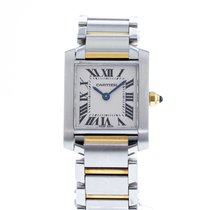 Cartier W51007Q4 Steel Tank Française 20mm pre-owned United States of America, Georgia, Atlanta