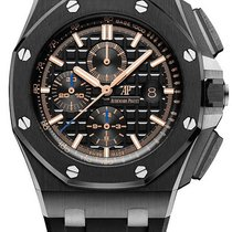 Audemars Piguet Royal Oak Offshore Chronograph Keramiek 44mm Zwart