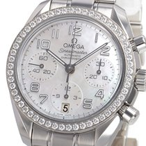 Omega Speedmaster Ladies Chronograph Steel 38mm Mother of pearl Arabic numerals United States of America, New York, Greenvale