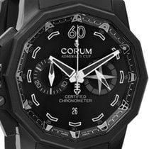 Corum Admiral's Cup Seafender 50 Chrono LHS Tytan 50mm Czarny Bez cyfr
