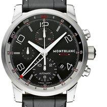 Montblanc Timewalker Steel 43mm Black Arabic numerals United States of America, New York, Greenvale