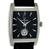 Eterna Madison Steel 48mm Black