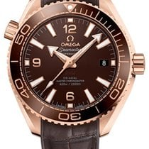 Omega Rose gold Automatic 39.5mm new Seamaster Planet Ocean