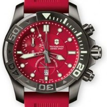 Victorinox Swiss Army Summit XLT Staal 43mm Rood