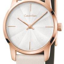 ck Calvin Klein Steel 31mm Quartz K2G236X6 new